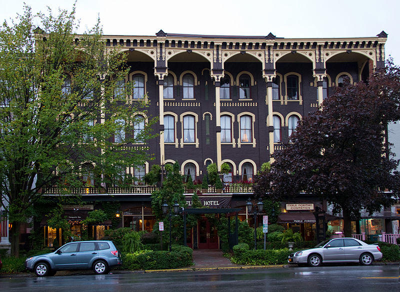 The Adelphi In Downtown Saratoga Springs