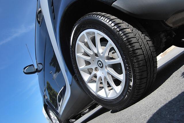 A car tire