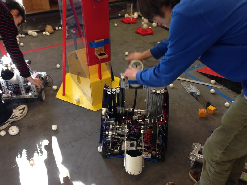 Work continues on the Higgs Bot.