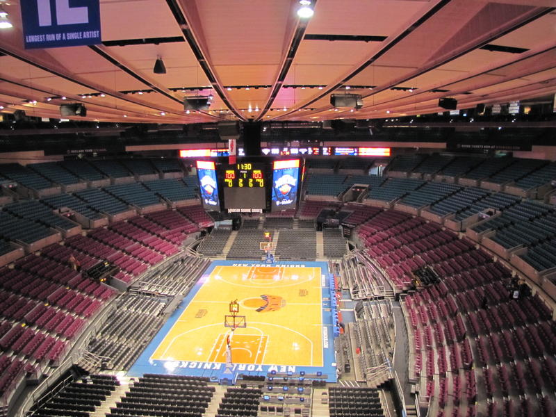 Sports report nit championship tonight at msg wamc for Madison square garden concert tonight