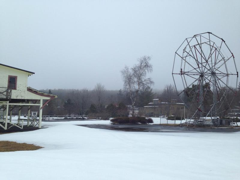 The former Sherman's amusement park in Caroga Lake