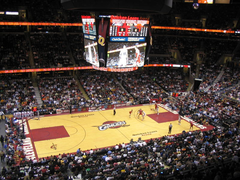 Cleveland Cavaliers Stadium