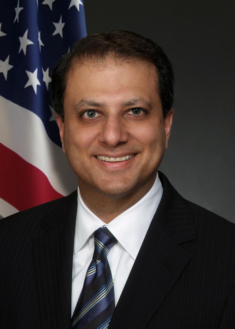 U.S Attorney Preet Bharara