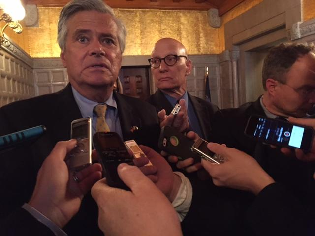Former State Senate Majority Leader Dean Skelos