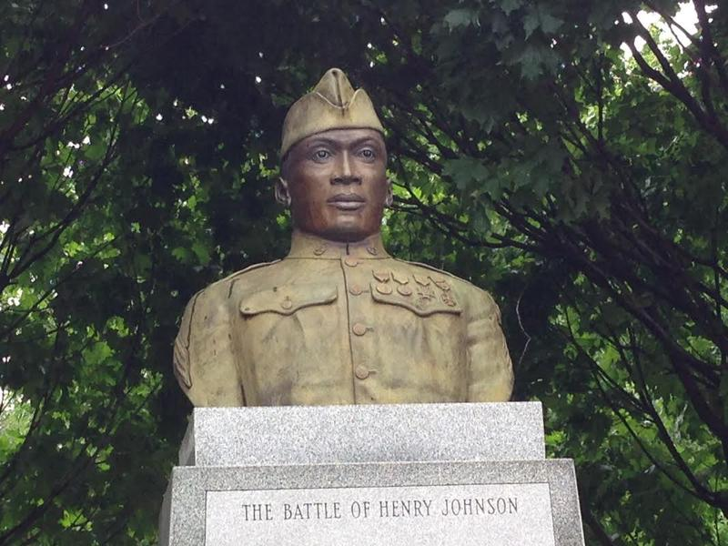 Albany legend Henry Johnson memoralized in Washington Park.