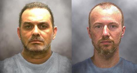 Fugitives Richard Matt and David Sweat