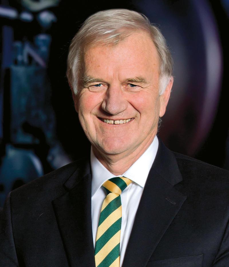 Dr. Tony Collins, president of Clarkson University