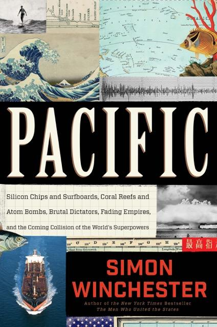Book Cover - Pacific by Simon Winchester