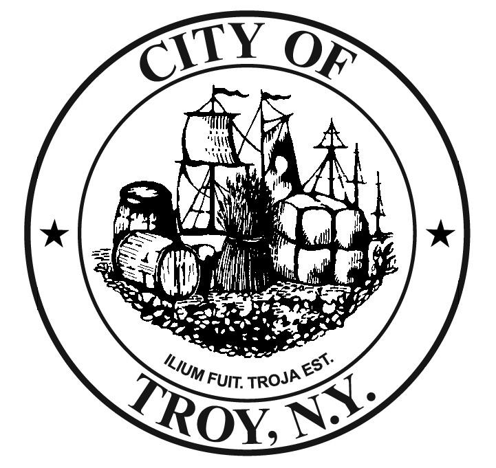 Troy city seal