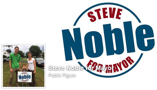Steve Noble took his grass-roots campaign to the Internet.