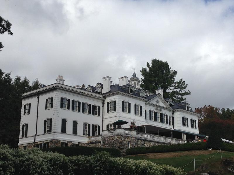 Edith Wharton's former home at The Mount in Lenox, Mass.