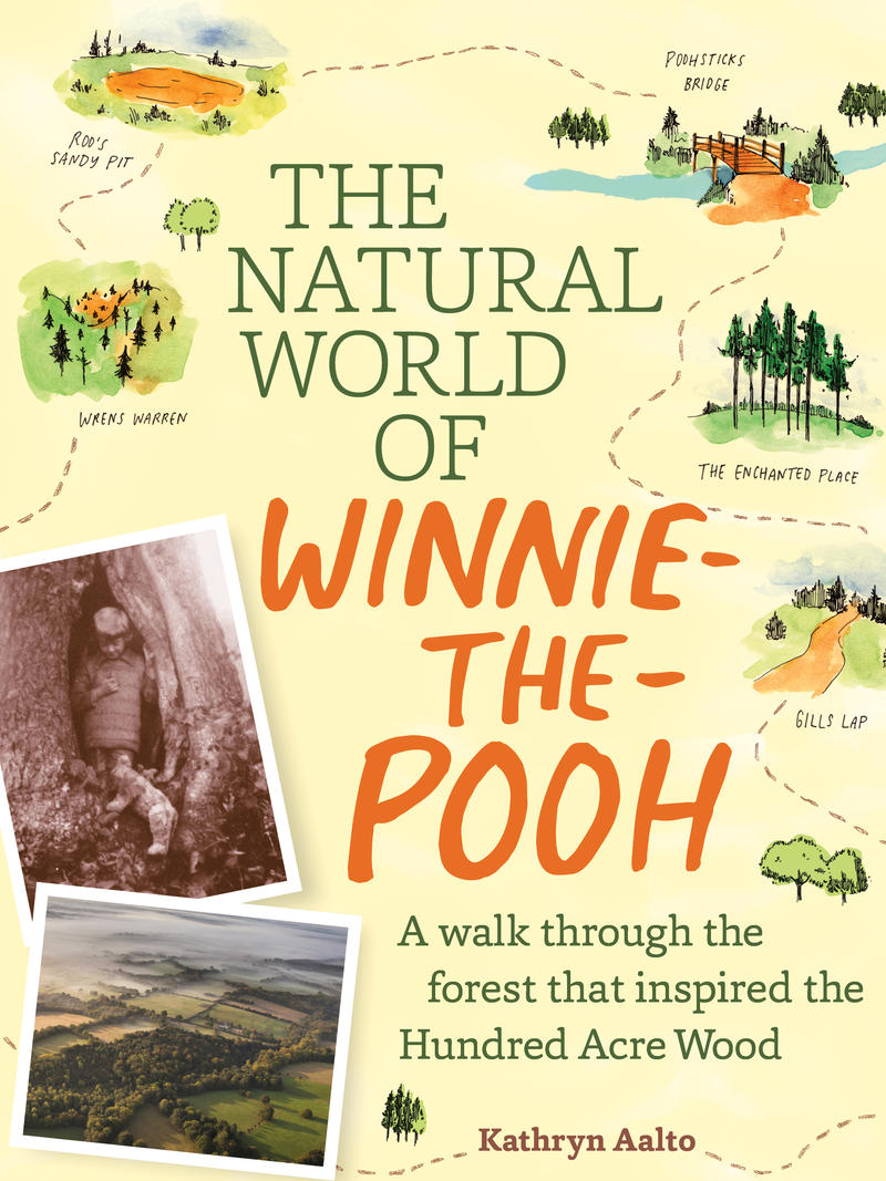Book Cover - The Natural World of Winnie The Pooh