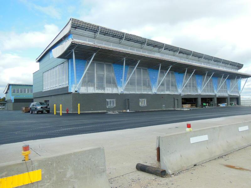 Terminal reconstruction at Plattsburgh International Airport