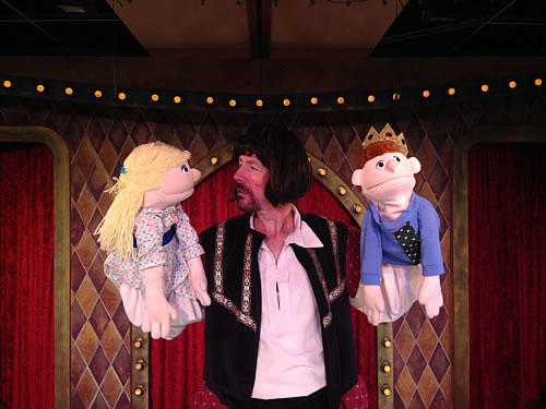 Puppets add to the fun of The Complete Works of William Shakespeare (Abridged)