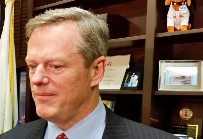 A picture of Massachusetts Governor Charlie Baker.