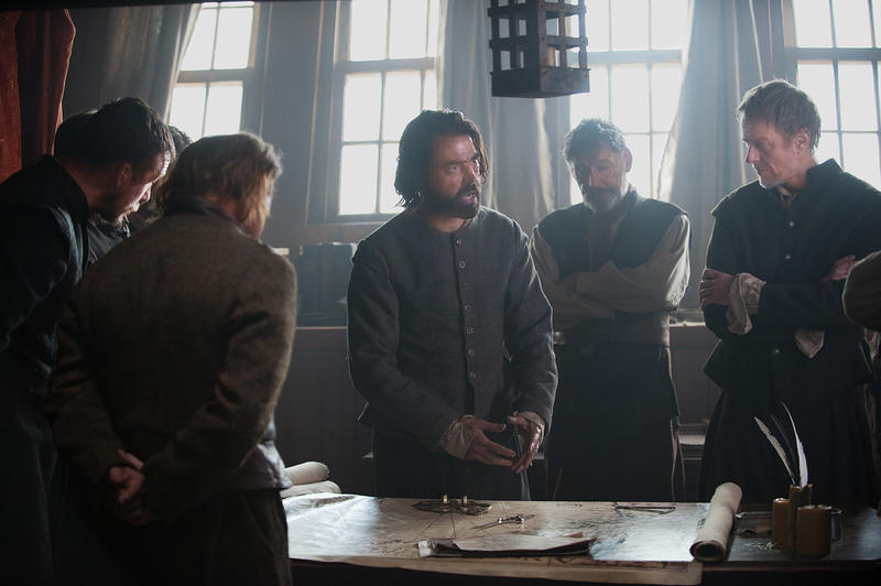 Ron Livingston plays John Carver in a new miniseries about the Pilgrims.