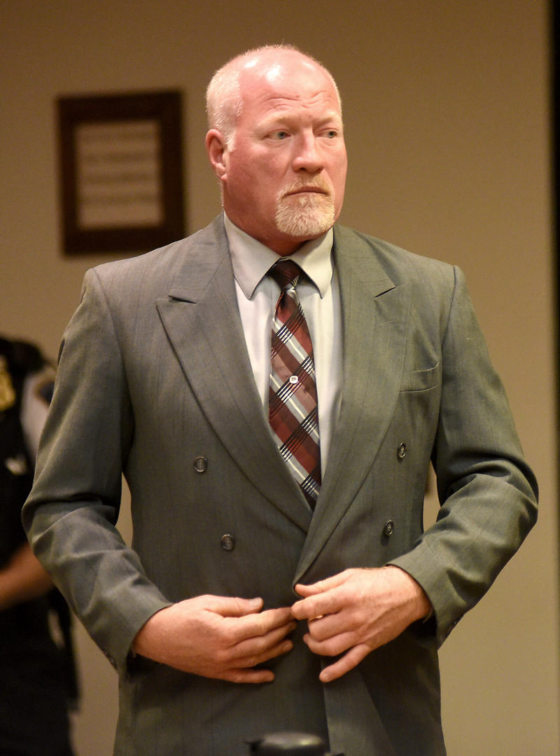 Gene Palmer at November court appearance