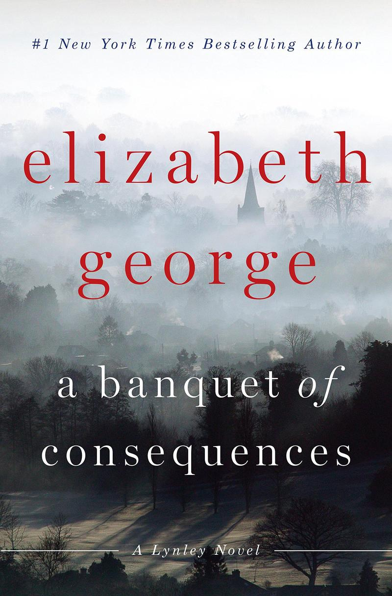Book cover - 'A Banquet of Consequences' by Elizabeth George