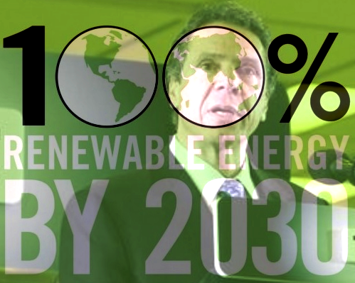 New York is taking steps to accomplish Gov. Andrew Cuomo's goal of generating half of the state's electricity from renewable sources by 2030.