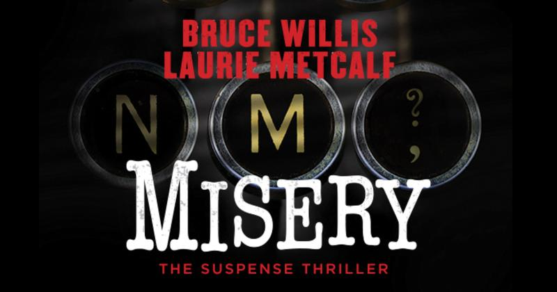 'Misery' on Broadway logo