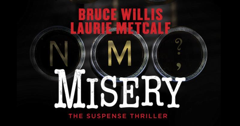 'Misery' on Broadway logo