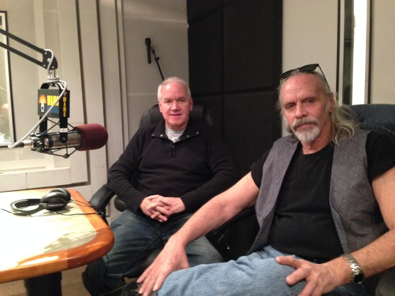 Gray Things Steve Colfer and Billy Cioffi at WAMC studios, November 2015.