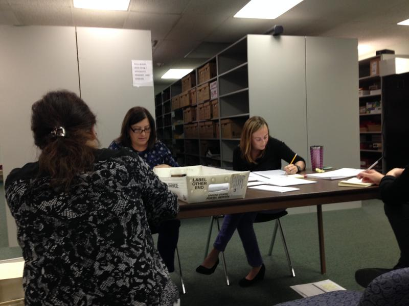 Counting the vote at Albany BOE