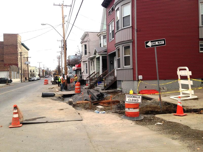 Still Ongoing, Quail Street Project Will Reduce Flooding, Improve the Streetscape,  And Reduce Overflow into Hudson River