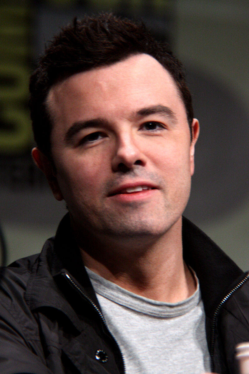 This is a picture of Seth MacFarlane