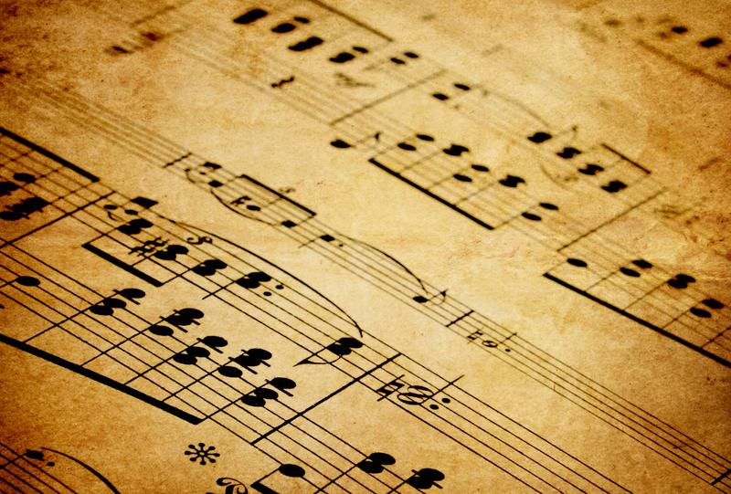 Picture of Musical Notes - Classical Music