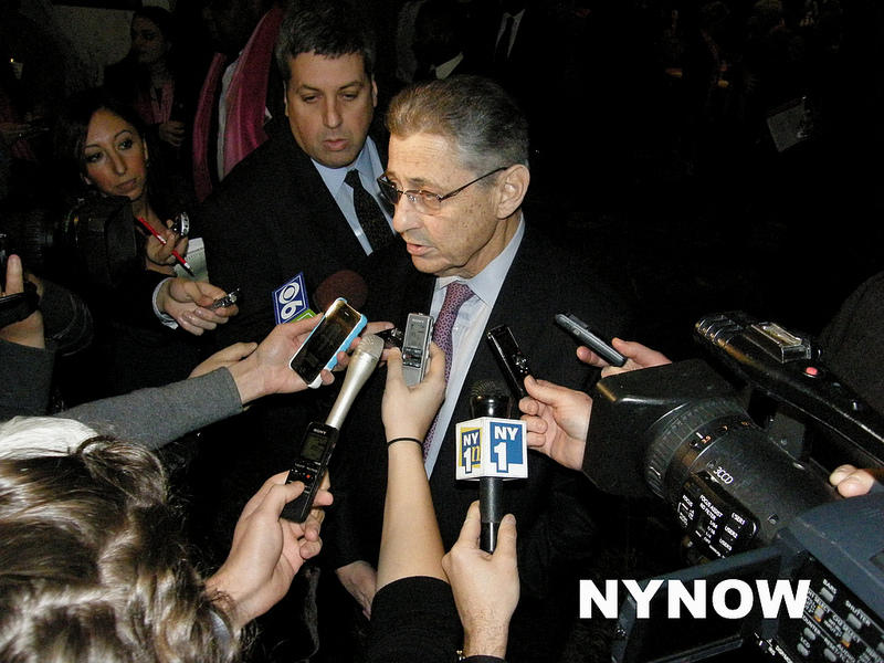 Sheldon Silver was found guilty Monday.