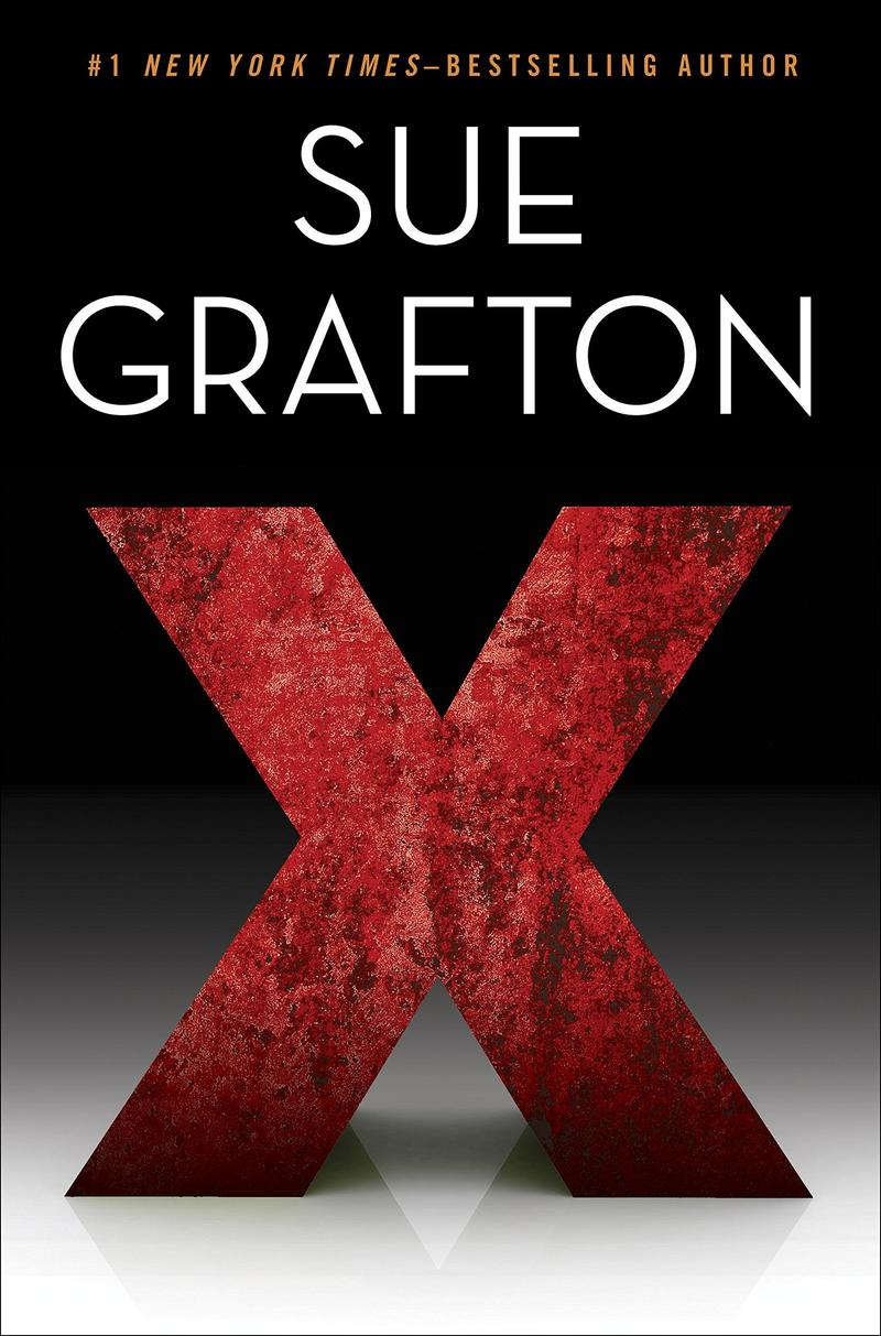 Book Cover - X by Sue Grafton