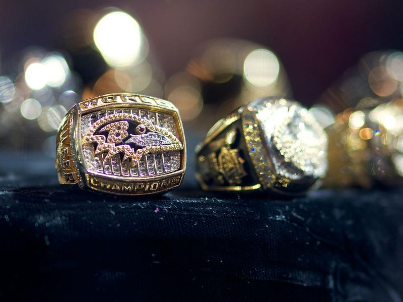 Baltimore Ravens Superbowl Ring