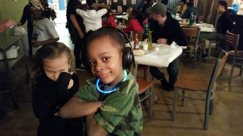 Kids at South End Children's Café