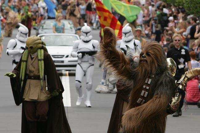 Star Wars parade