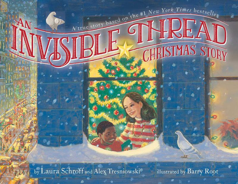 Book Cover - An Invisible Thread Christmast Story