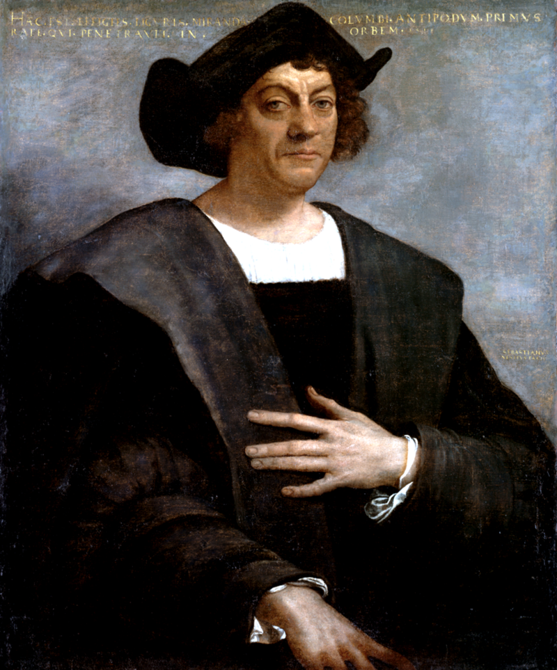 Painting of Christopher Columbus by Sebastiano del Piombo