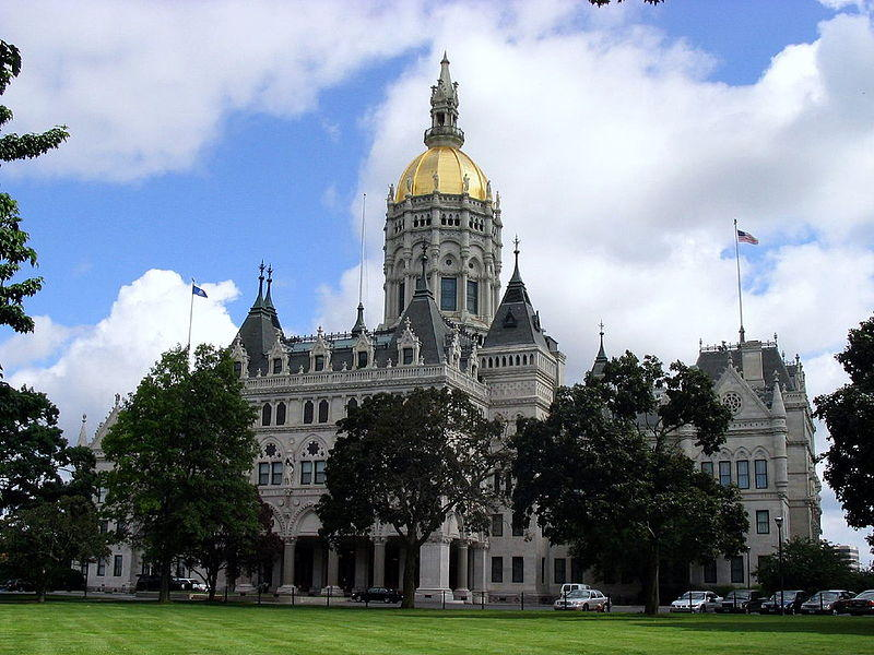 This is a picture of Connecticut's state capitol