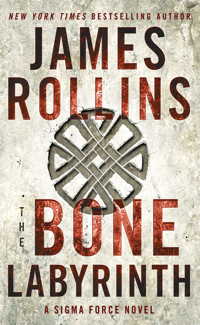 Book Cover - The Bone Labyrinth by James Rollins