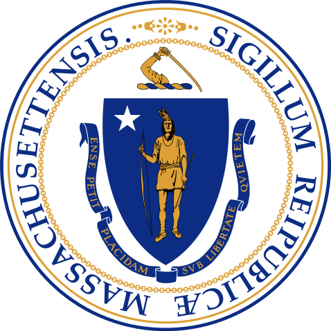 This is a picture of the seal of Massachusetts