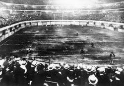 The first NFL playoff game.