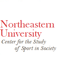 This is a picture of the logo of the The Center for the Study of Sport in Society at Northeastern University