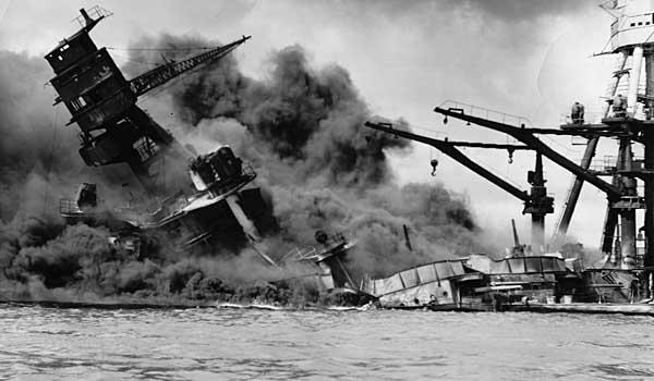 The Attack on Pearl Harbor, December 7, 1941