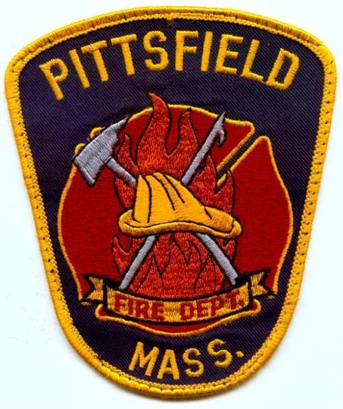 This is a picture of the logo of the Pittsfield Fire Department