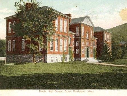 This is a picture of the Searles school in Great Barrington, Massachusetts