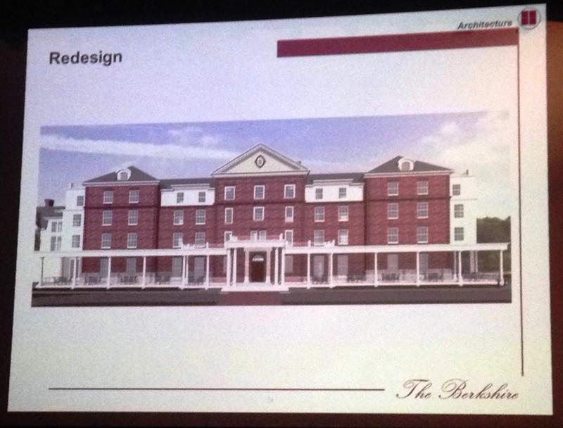 This is a picture of the design for The Berkshire hotel