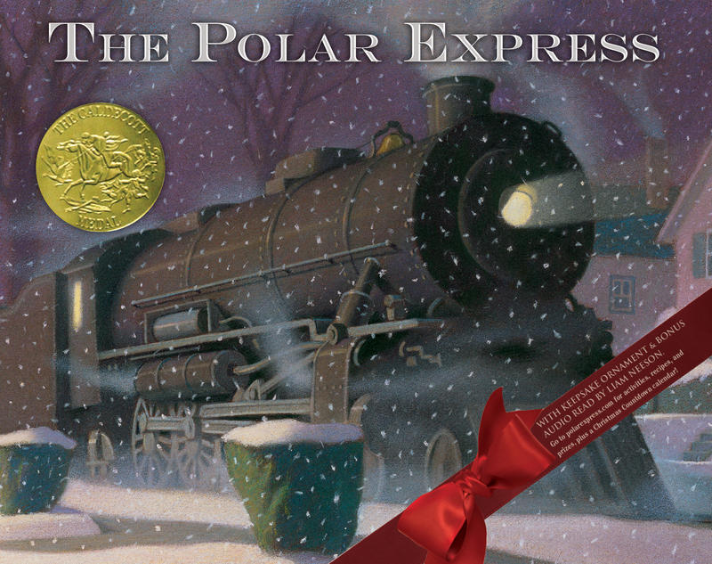 Book Cover - The Polar Express