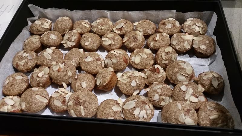 Teff & Almond Tea Cakes