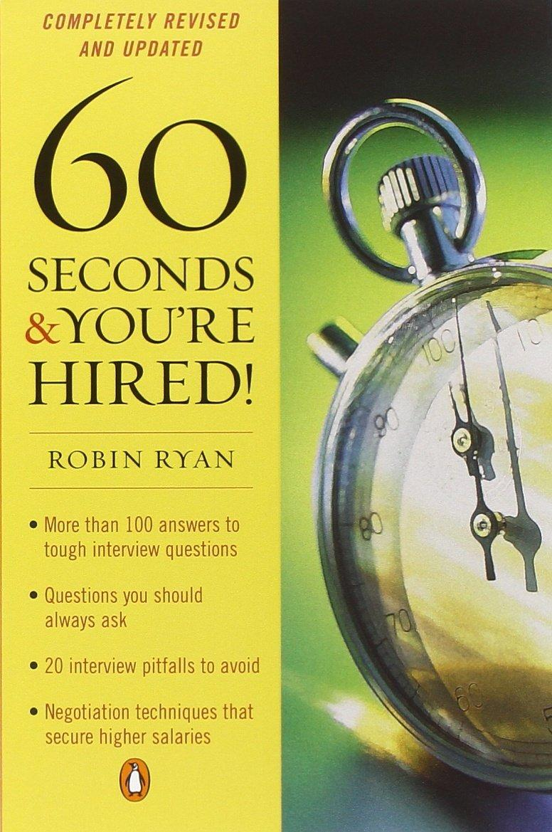 Book Cover - 60 Seconds & You're Hired!