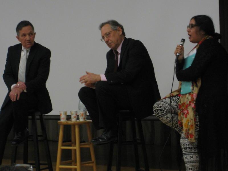 Dennis Kucinich, Michael Sussman and Pramilla Malick